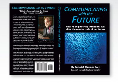 "Book Cover Design: ""Communicating with the Future"""