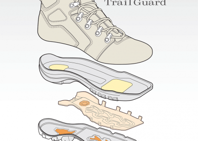 Product Illustration: Work Boots by Danner