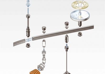 Color Illustration: Track Lighting / Bronze