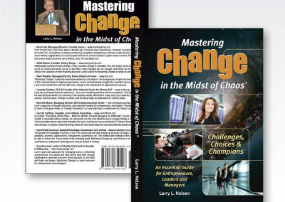 "Book Cover Design & Interior Formatting: ""Mastering Change"""