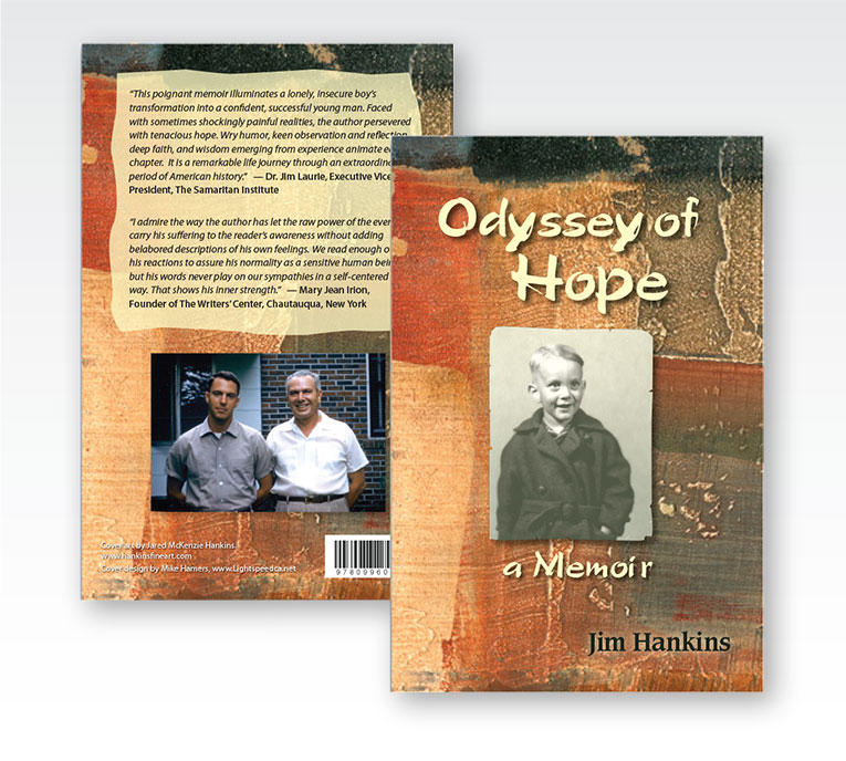 "Book Cover Design: ""Odyssey of Hope"""