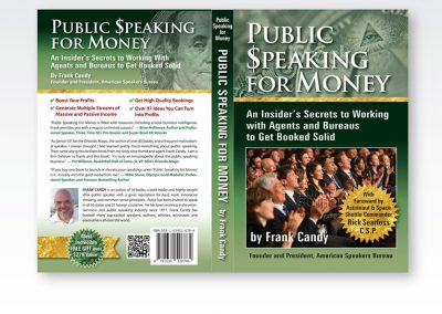 "Book Cover Design: ""Public Speaking for Money"""