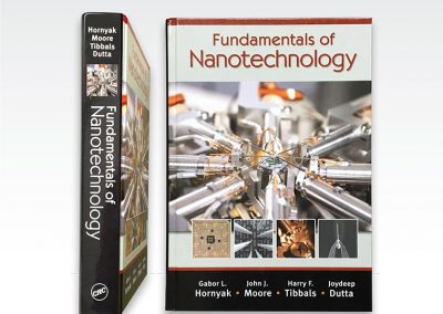 "Art production & cover: ""Fundamentals of Nano"" textbook"