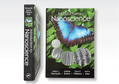 "Art production & cover design: ""Intro to Nanoscience"" Textbook"