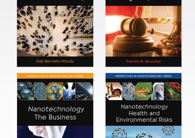 "Book Cover Design: ""Perspectives in Nanotechnology"" / Series"