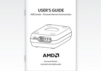 "Technical Manual: AMD ""Geode"" Internet Communicator"