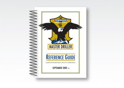 "Production Tech Manual: ""Master Driller Guide"" / 1,300 pages"
