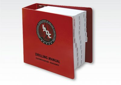 "Technical Manual"" ""Master Driller Manual / IADC"""