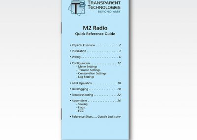 "Technical Manual: ""M2 Radio Quick Reference"""