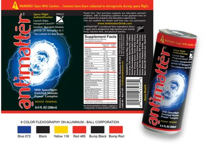 Packaging: 6-color Reflexography on Metal Can