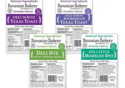 Packaging: Gourmet Bread Bag Labels