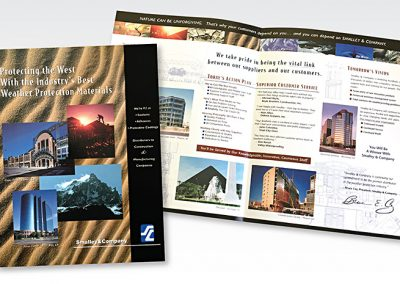 Corporate brochure: Smalley & Company / building products
