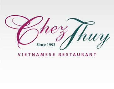 "Logo Design: ""Chez Thuy Vietnamese Restaurant"""