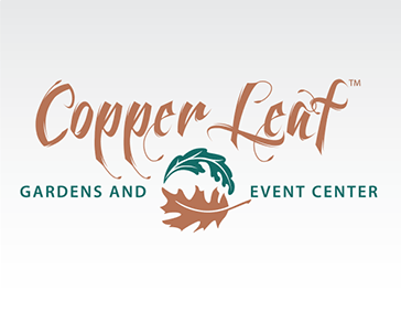 "Logo Design: ""CopperLeaf Gardens and Event Center"""