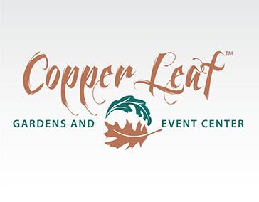 """Logo Design: """"CopperLeaf Gardens and Event Center"""""""