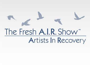 "Logo Design: ""Fresh A.I.R.: Artists In Recovery"""