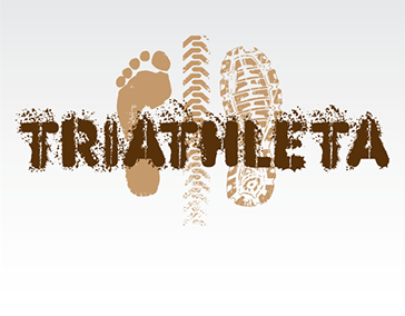 "Logo Design: ""Triathleta Productions"""
