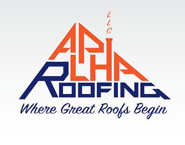 "Logo Design: ""Alpha Roofing LLC"""