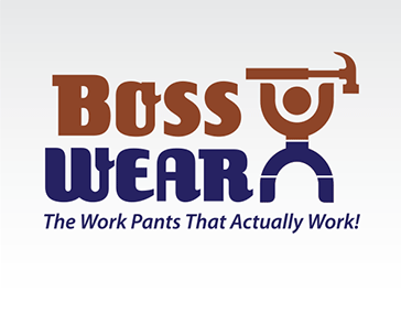 "Logo Design: ""BossWear Pants"""
