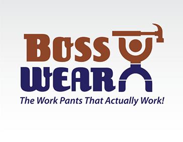 """Logo Design: """"BossWear Pants"""""""