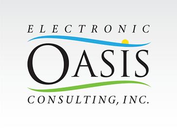 "Logo Design: ""Electronic Oasis"""