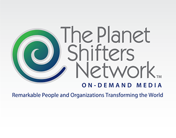 "Logo Design: ""Planet Shifters in Action"""