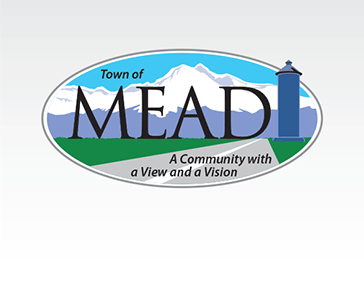 "Logo: ""The Town of Mead, Colorado"""