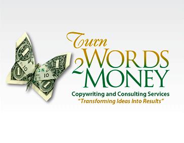 "Logo Design: ""Turn Word 2 Money"""