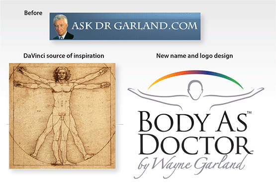 "Before & After – Rename and Rebrand ""Body As Doctor"""