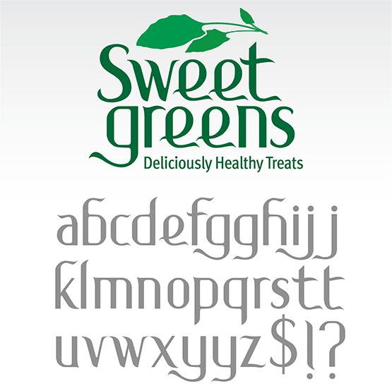 "Logo Design: ""Sweet Greens Treats"""
