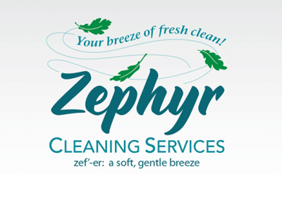 "Logo Design: ""Zephyr Cleaning Services"""