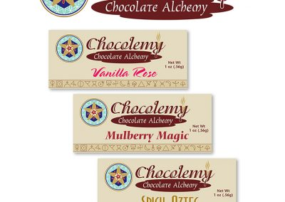 "Packaging: Chocolate Box for ""Chocolate Alchemy"""