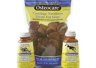 "Packaging / Cartilage: ""Osteocare® Cartilage Supplement"""