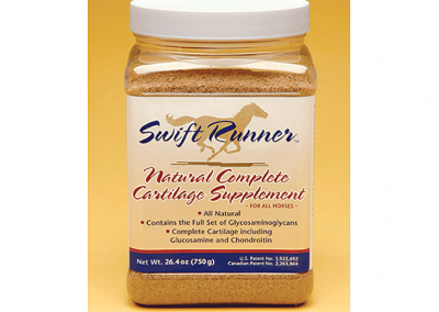 "Packaging / Product Label: ""Swift Runner Cartilage Supplement"""