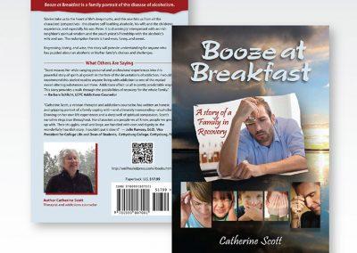 "Book Cover Design: ""Booze at Breakfast"""