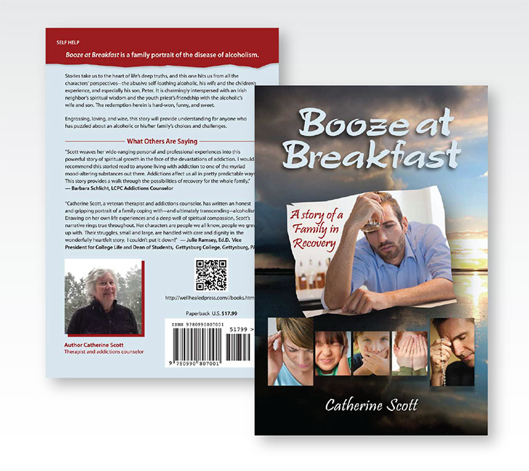 "Book Cover Design: ""Booze at Breakfast"""