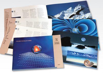 "Brochure Design / 20-page Capabilities Brochure: ""IBM/DB2 Database"""