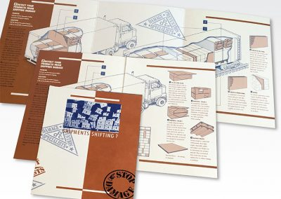 "Brochure Design / 6-panel Brochure: ""Damage Prevention Company"""