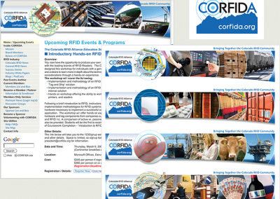 "Web Design: ""Colorado RFID Association"""